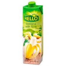 Hello Banán gyümölcsital 20%-os 1l élelmi rosttal