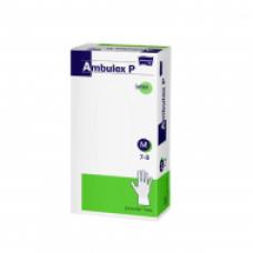 Ambulex latex gumikesztyű 100db púdermentes M-es