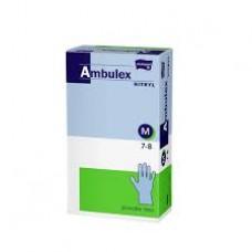 Ambulex nitril gumikesztyű 100db púdermentes M-es