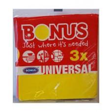 Bonus általános törlőkendő 3db-os