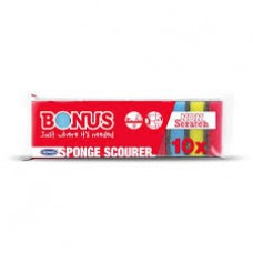 Bonus dörzsis mosogató szivacs 10db