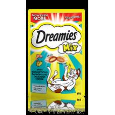 Dreamies jutalomfalat macskáknak 60g Lazac-Sajt Mix