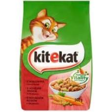 Kitekat macskaeledel száraz 300g Marha-zöldség