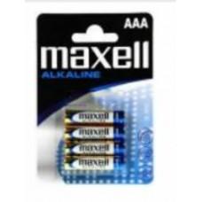 Maxell LR03x4 alkáli mini elem