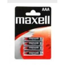 Maxell R03x4 féltartós mini elem