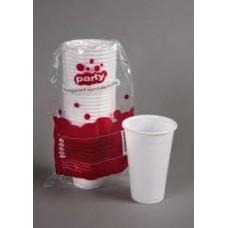 Party műanyag pohár 3dl 20db-os