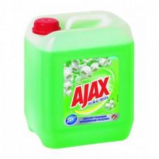 Ajax általános tisztítószer 5l tavaszi virágok (zöld)
