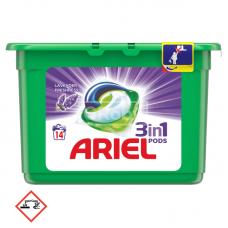 Ariel mosógél kapszula 3in1 14db Levendula