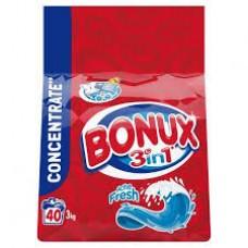 Bonux Ultra kompakt mosópor 3kg Ice Fresh 40 mosásos