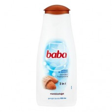 Baba hajsampon 400ml / 2in1 Minden hajtípusra / mandula