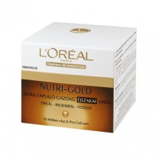 Dermo nutri gold 50ml éjszakai krém méhpempővel,Pro-Calcium