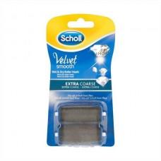 Scholl Velvet Smooth elektromos lábápoló utántöltő henger 2db