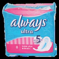 Always Ultra egészségügyi betét Super Plus 8db