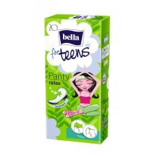 Bella for teens tisztasági betét relax 20db