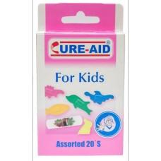 Cure-Aid sebtapasz 20db színes állatfigurás gyerekeknek