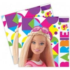 Party szalvéta 20db Barbie (33*33cm)
