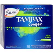 Tampax tampon Compak Super 16