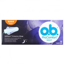 o.b. tampon Procomfort Night 16db super